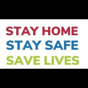 STAY HOME💕STAY SAFE💕SAVE LIVES💕❤️🧡💙💜💛💚❤️💜